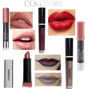 5x Covergirl Matte Metallic Liquid Lip-stick Balm